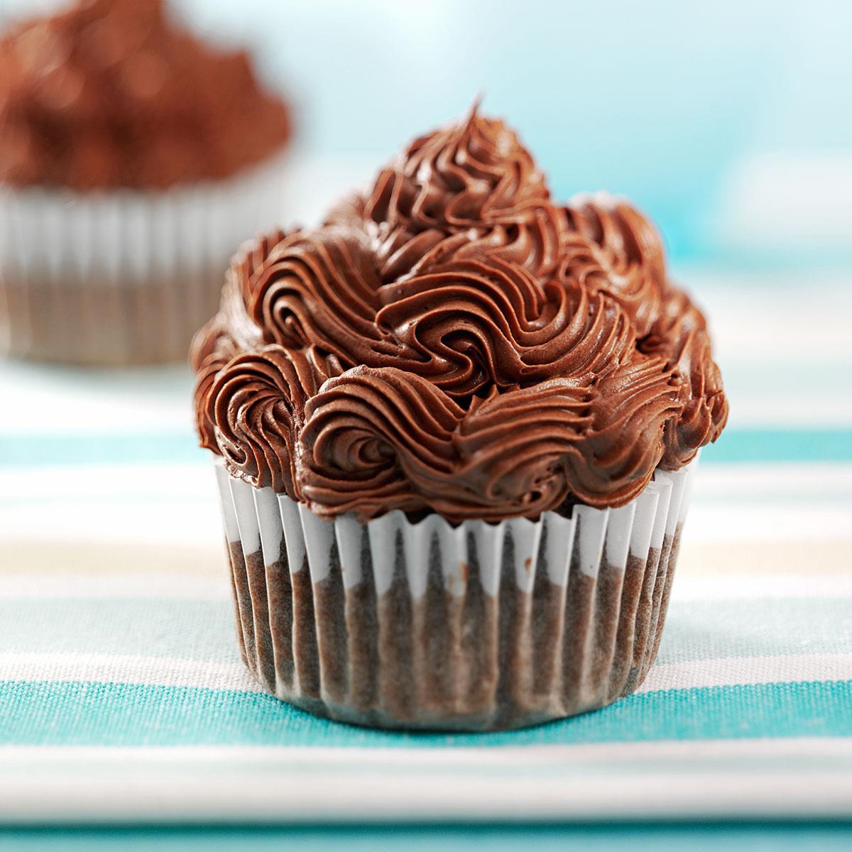 Cocoa Banana Cupcakes Recipe: How to Make It | Taste of Home