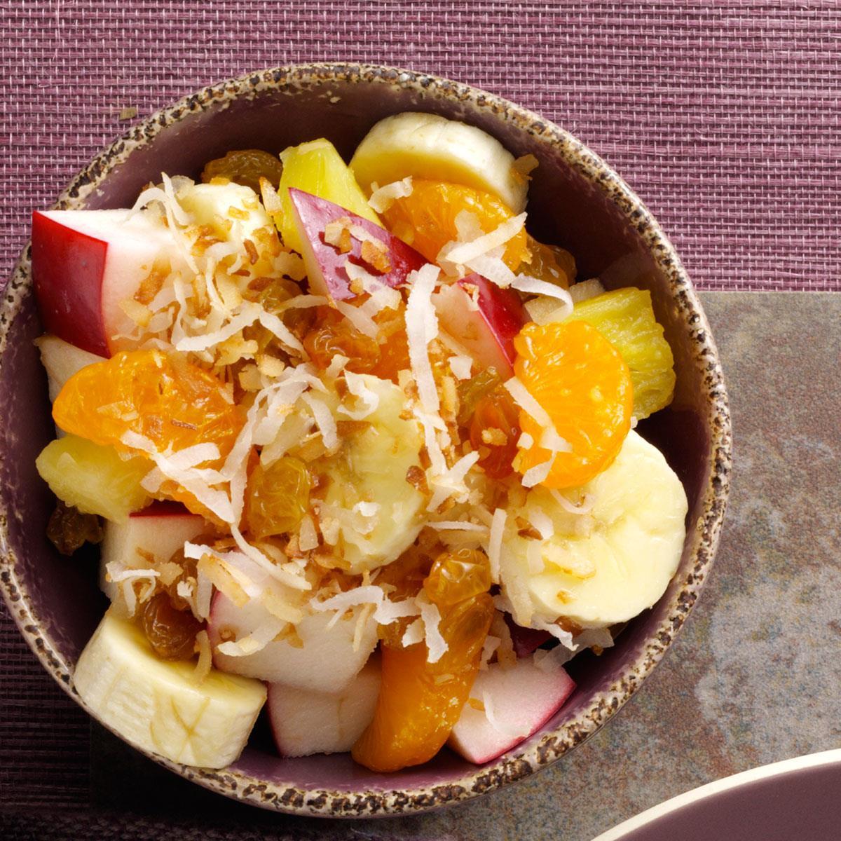 Coconut Fruit Salad Recipe | Taste of Home