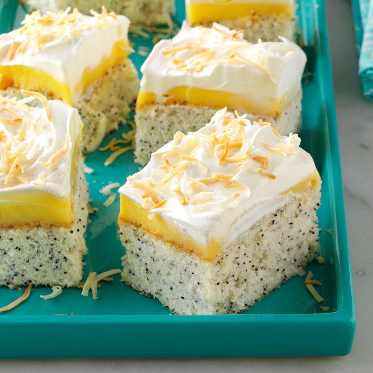 Coconut Poppy Seed Cake image