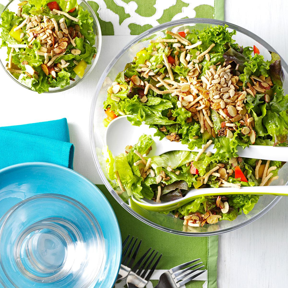 Company Green Salad Recipe How To Make It Taste Of Home