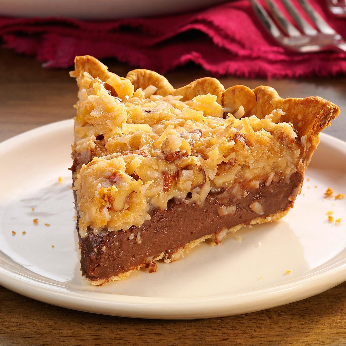 Contest Winning German Chocolate Pie Recipe How To Make It Taste Of Home