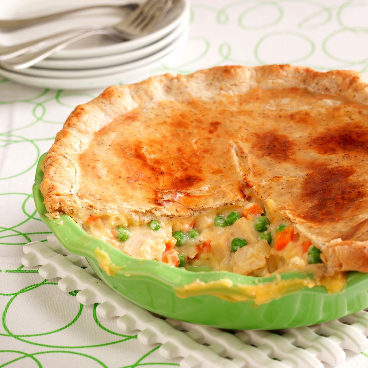 Contest Winning Turkey Potpie Recipe How To Make It Taste Of Home