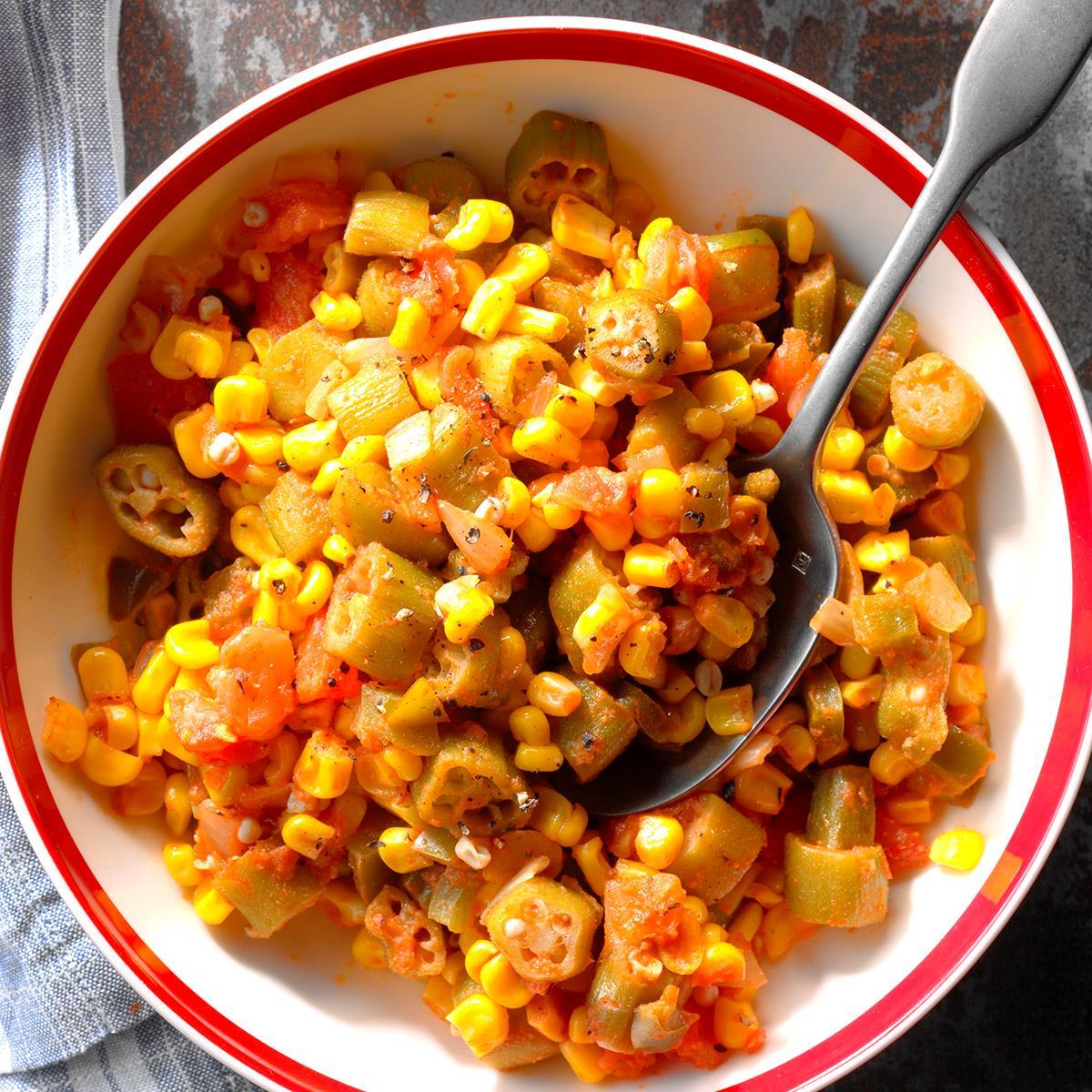 Corn Okra Creole image
