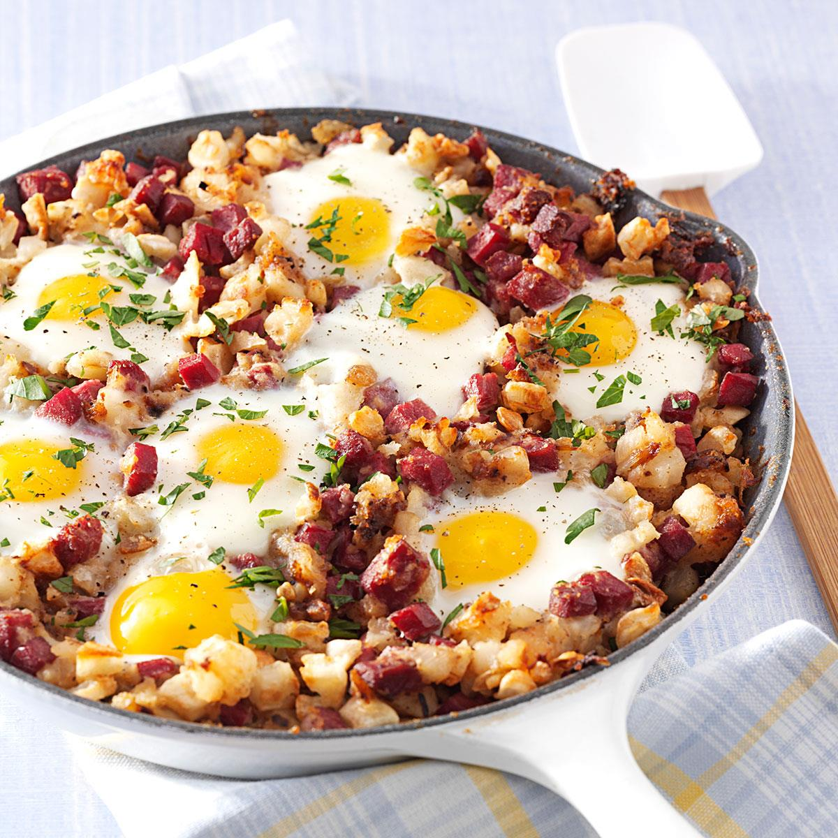 Corned Beef Hash and Eggs image