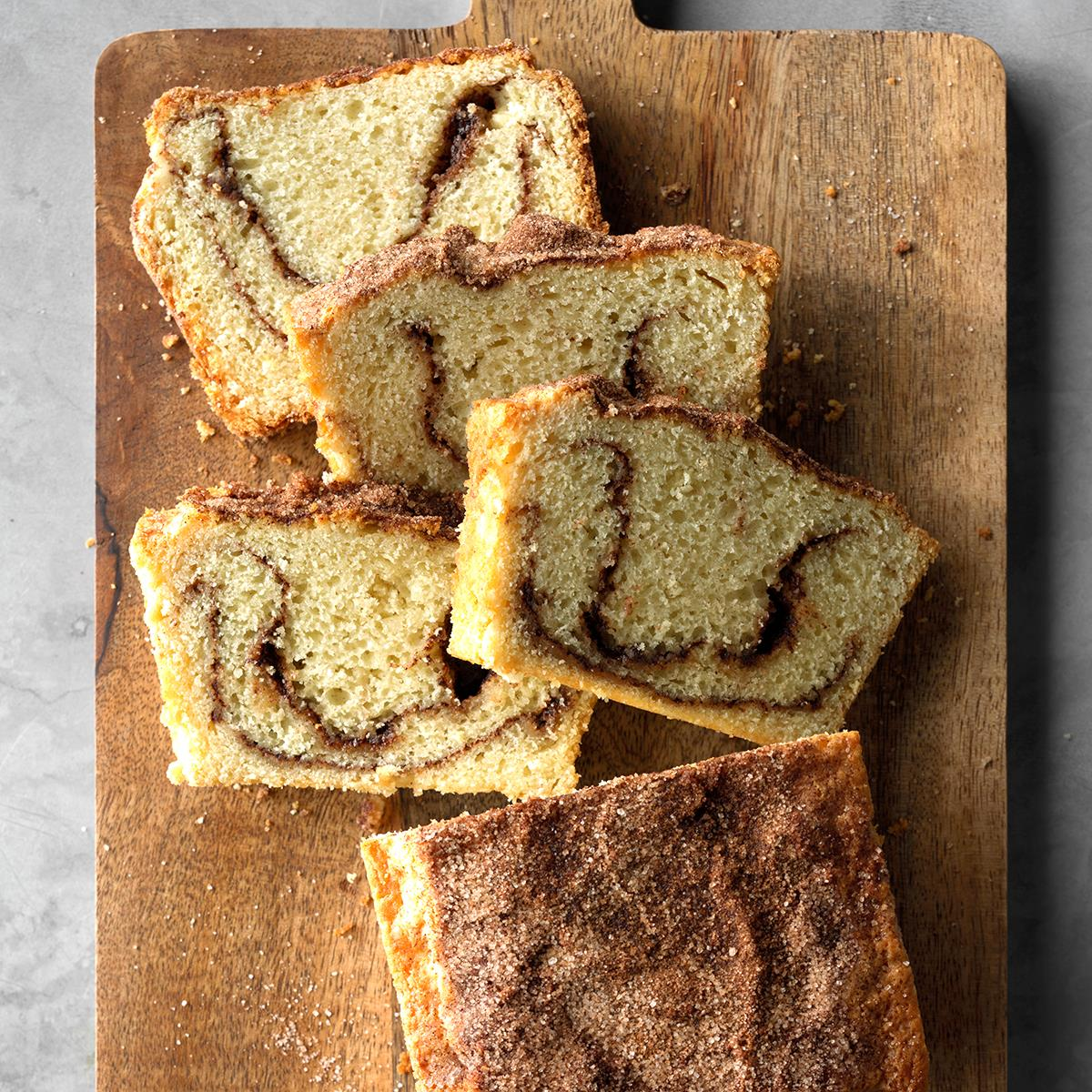 Country Cinnamon Swirl Bread Recipe How To Make It Taste Of Home
