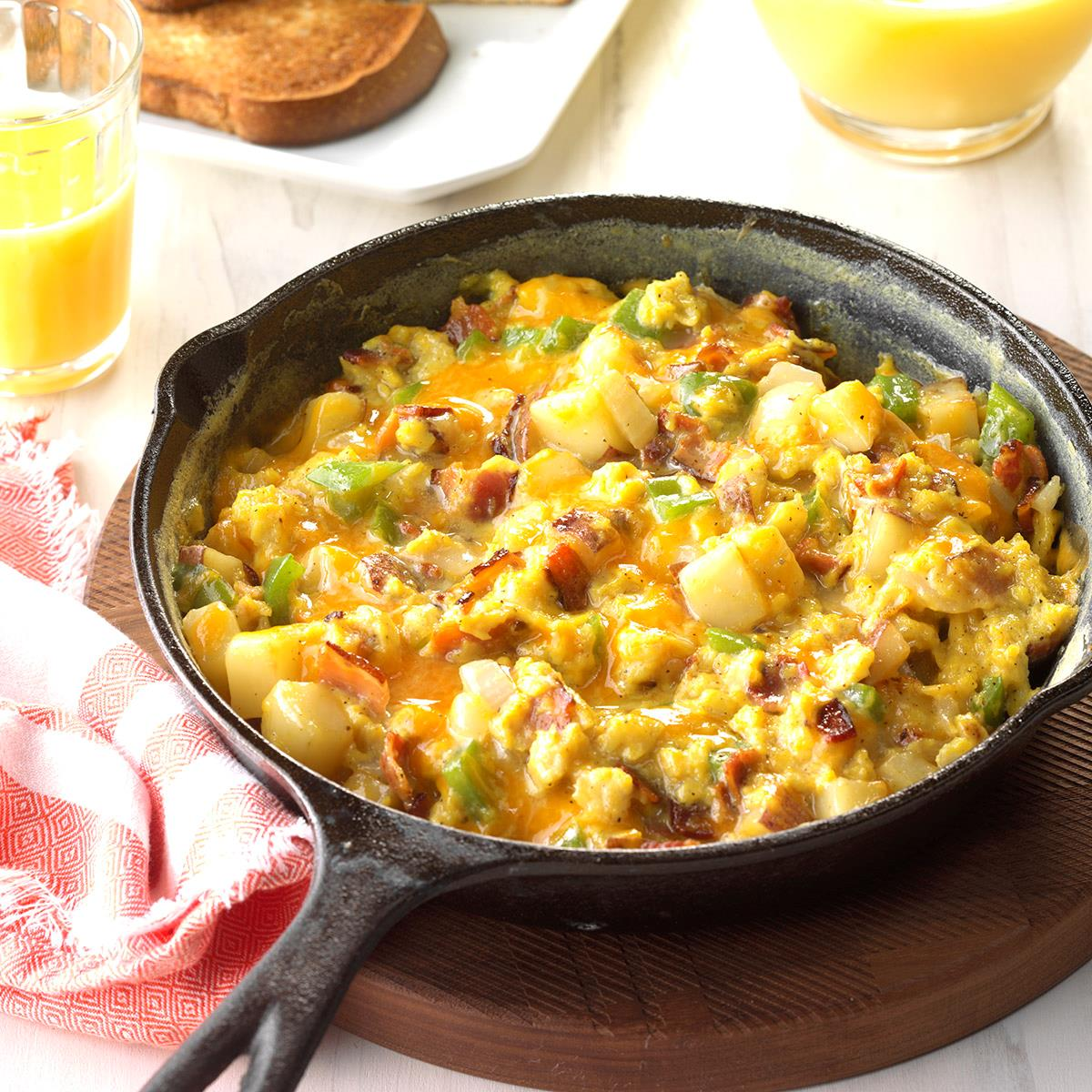 Country Style Scrambled Eggs Recipe Taste Of Home