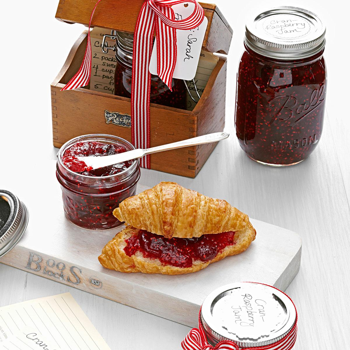 Cran-Raspberry Jam image
