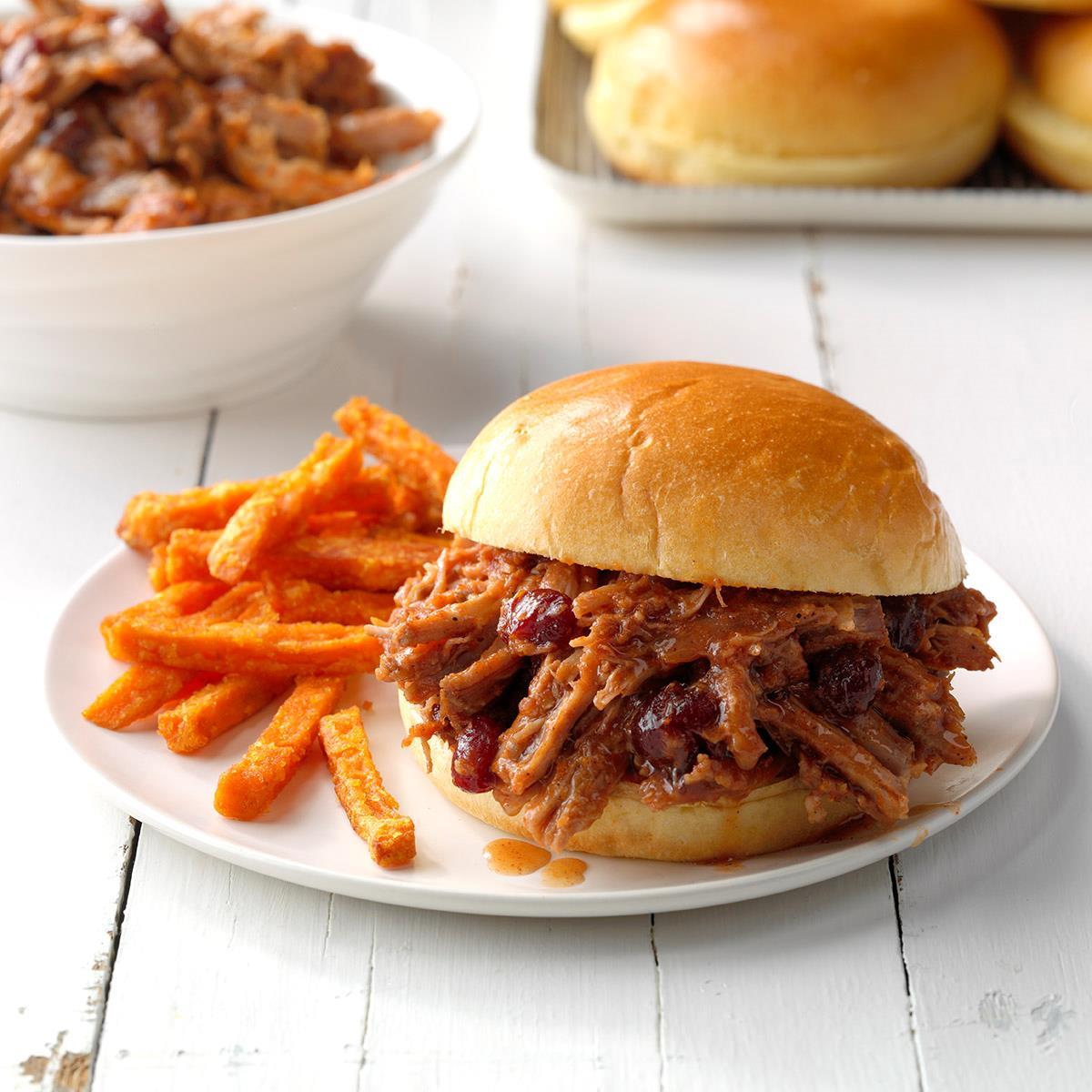 Cranberry BBQ Pulled Pork image