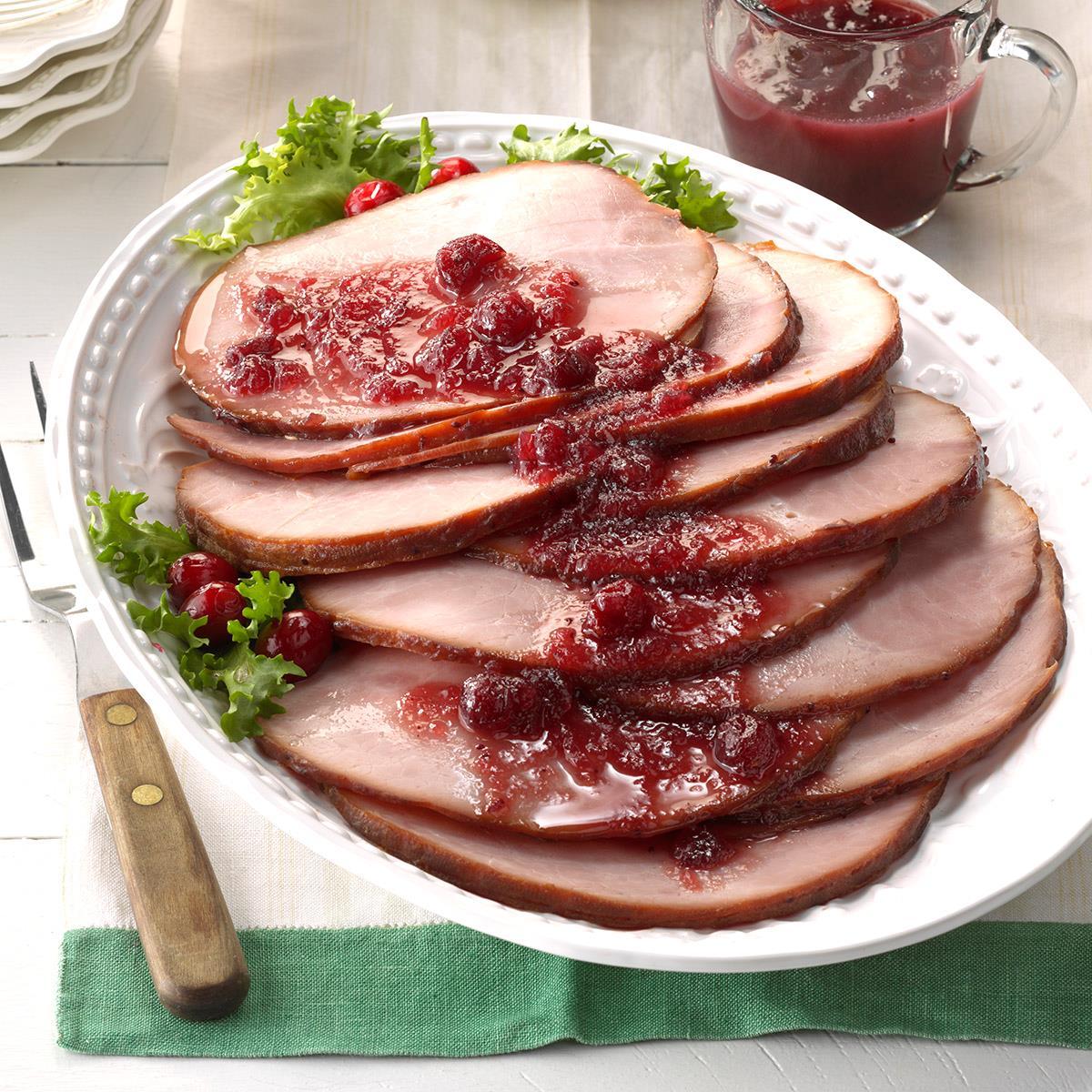 Cranberry Glazed Ham image