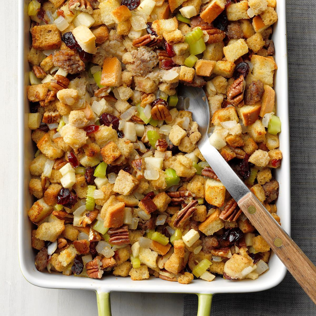 Cranberry Pecan Stuffing