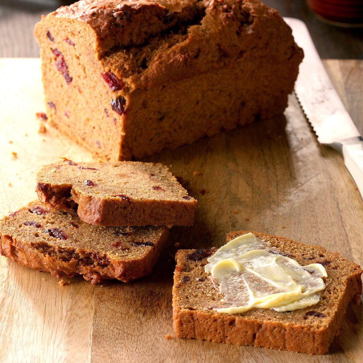 Cranberry Sweet Potato Bread image
