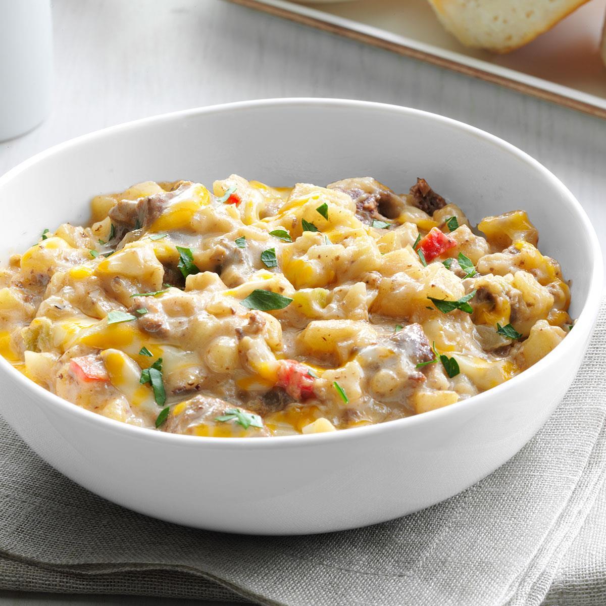 Creamy Beef & Potatoes image
