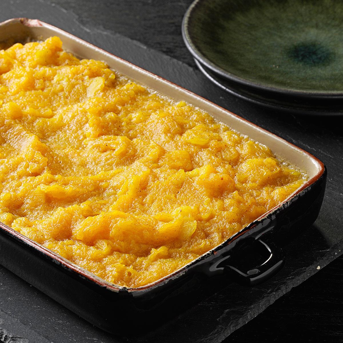 Creamy Butternut Squash Casserole Recipe How To Make It Taste Of Home