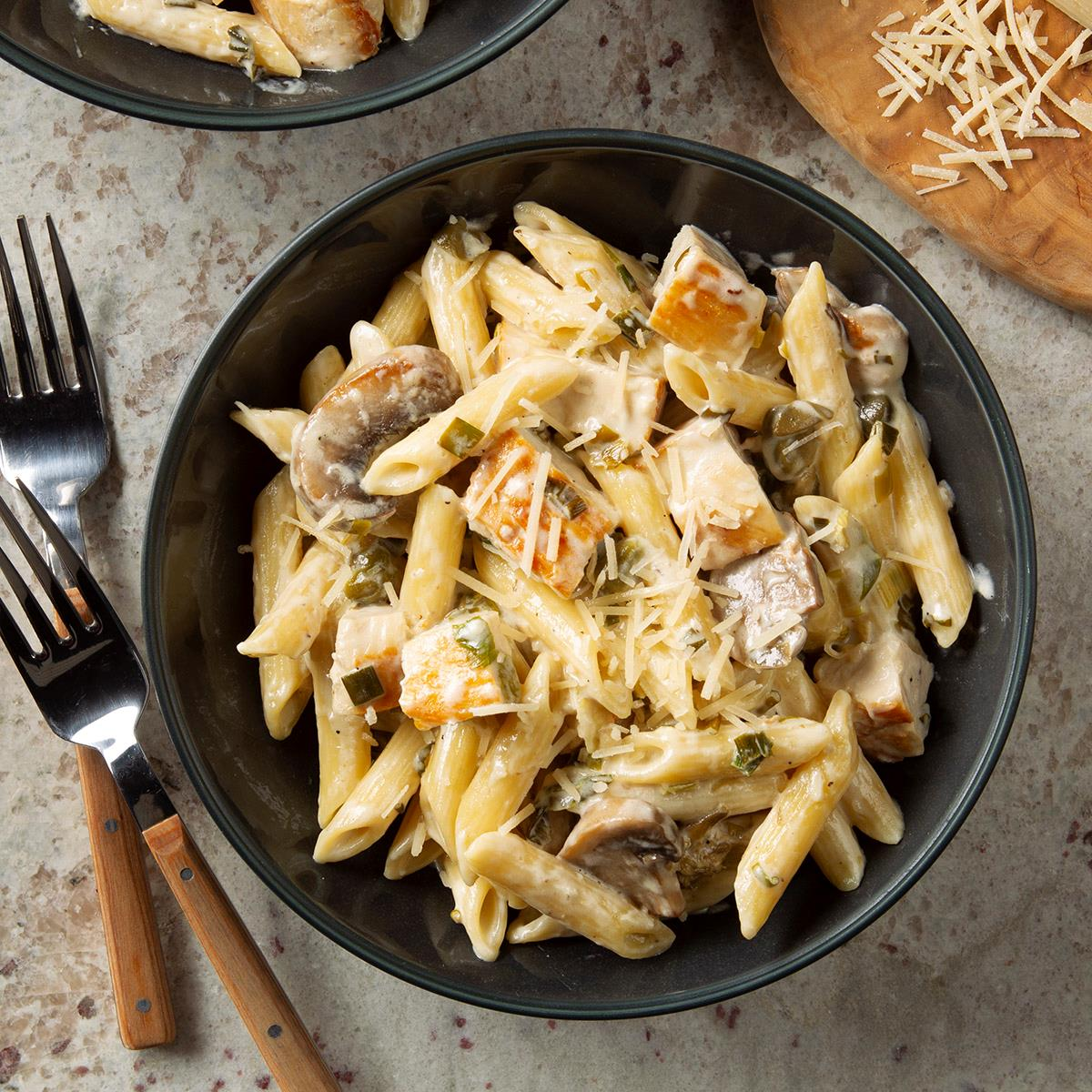 Creamy Chicken And Pasta Recipe How To Make It Taste Of Home