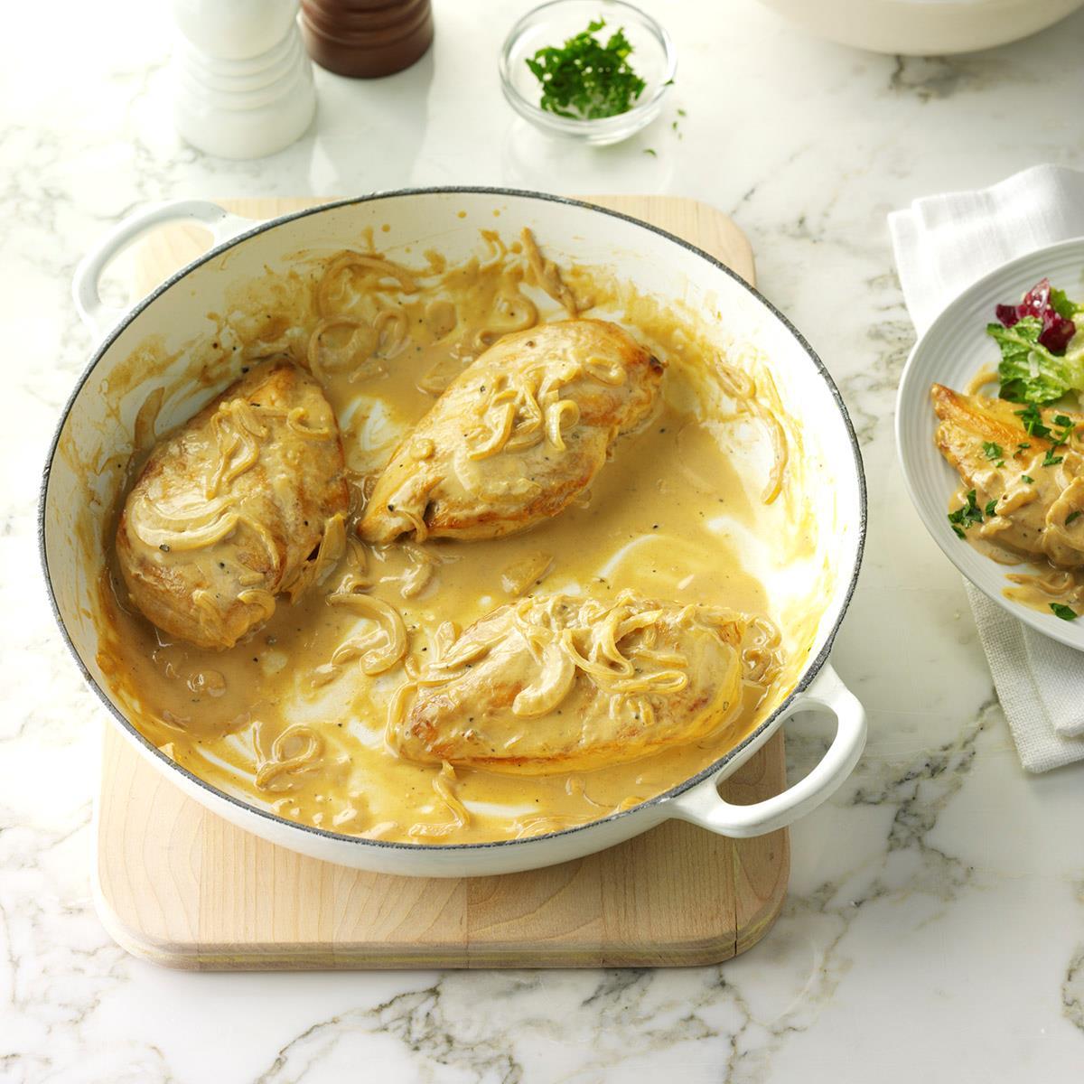 Creamy Dijon Chicken_image