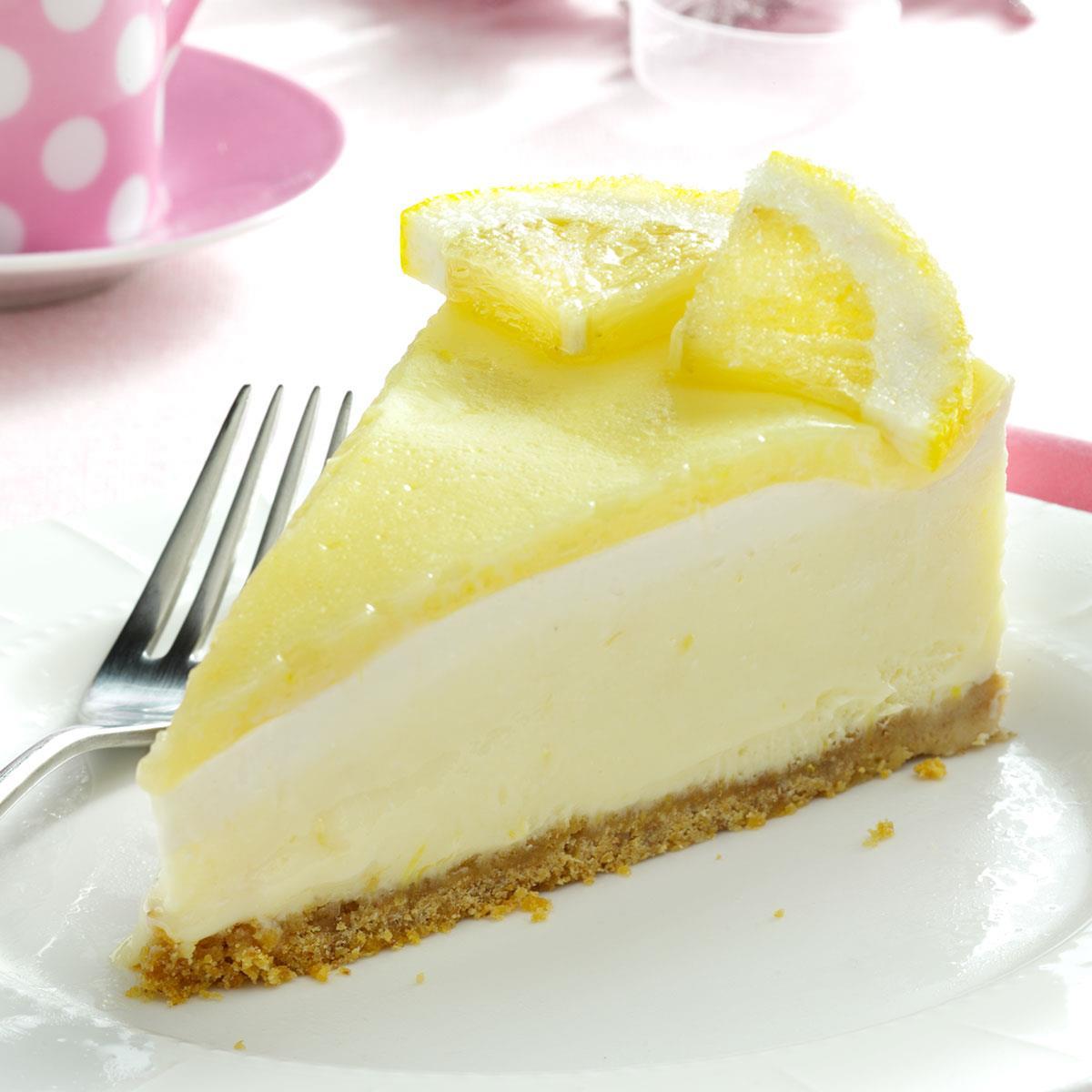 Creamy Lemon Cheesecake image