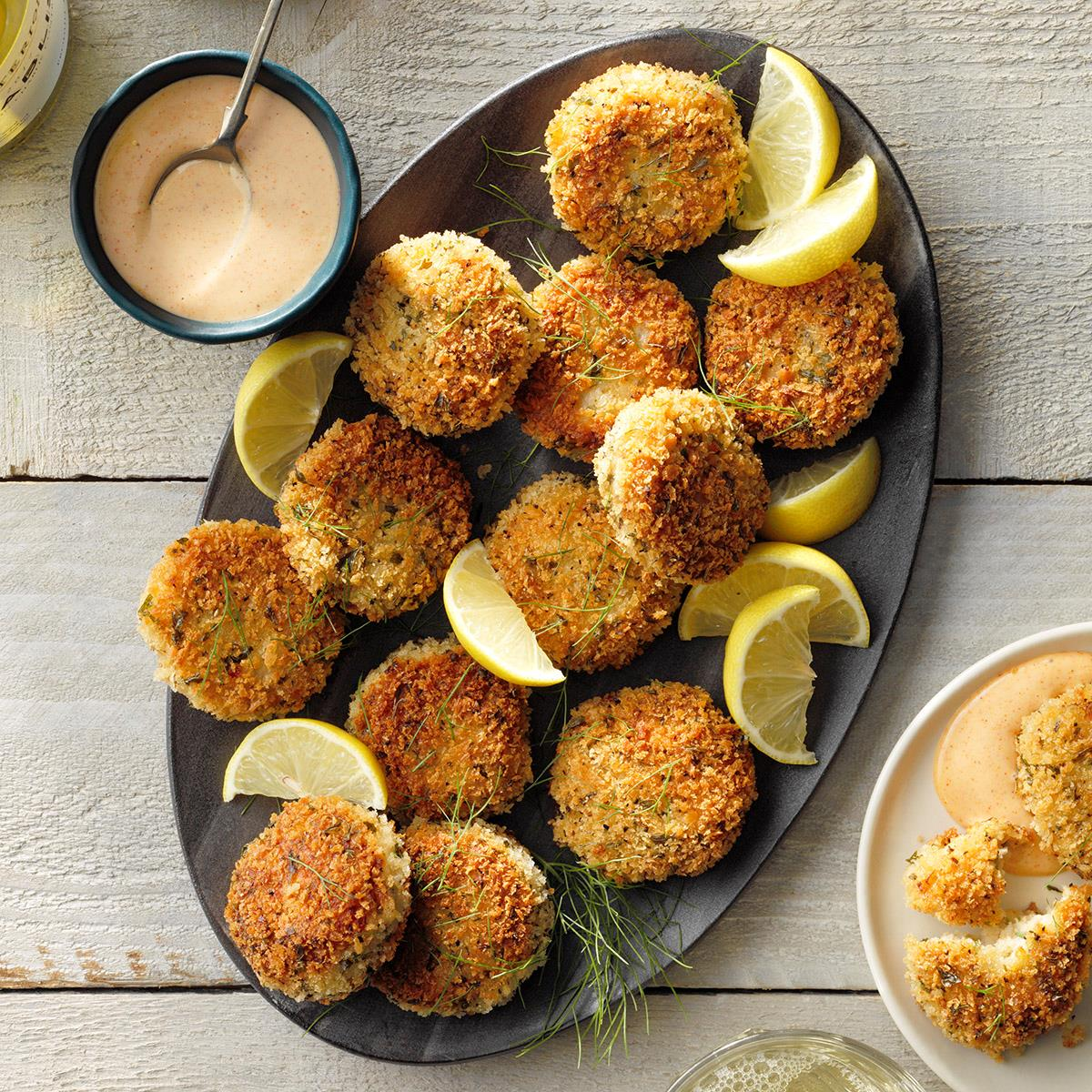 Creole Scallop Cakes image