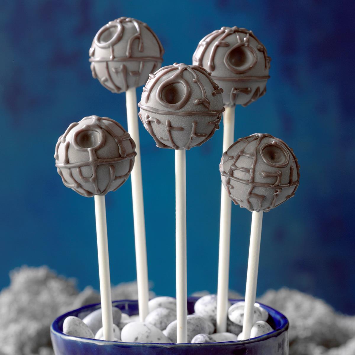 Death Star Caramel Truffles