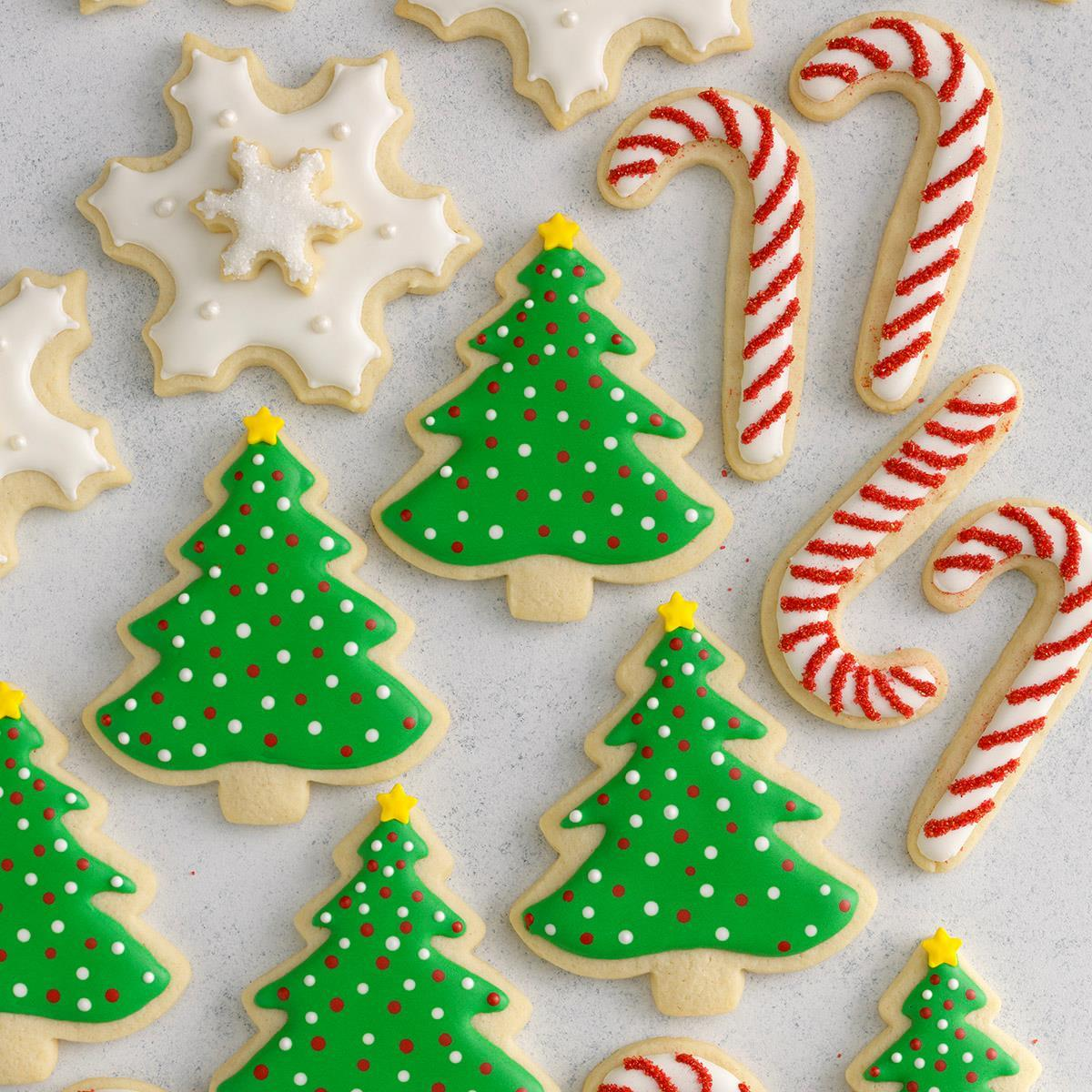 Decorated Christmas Cutout Cookies Recipe | Taste of Home