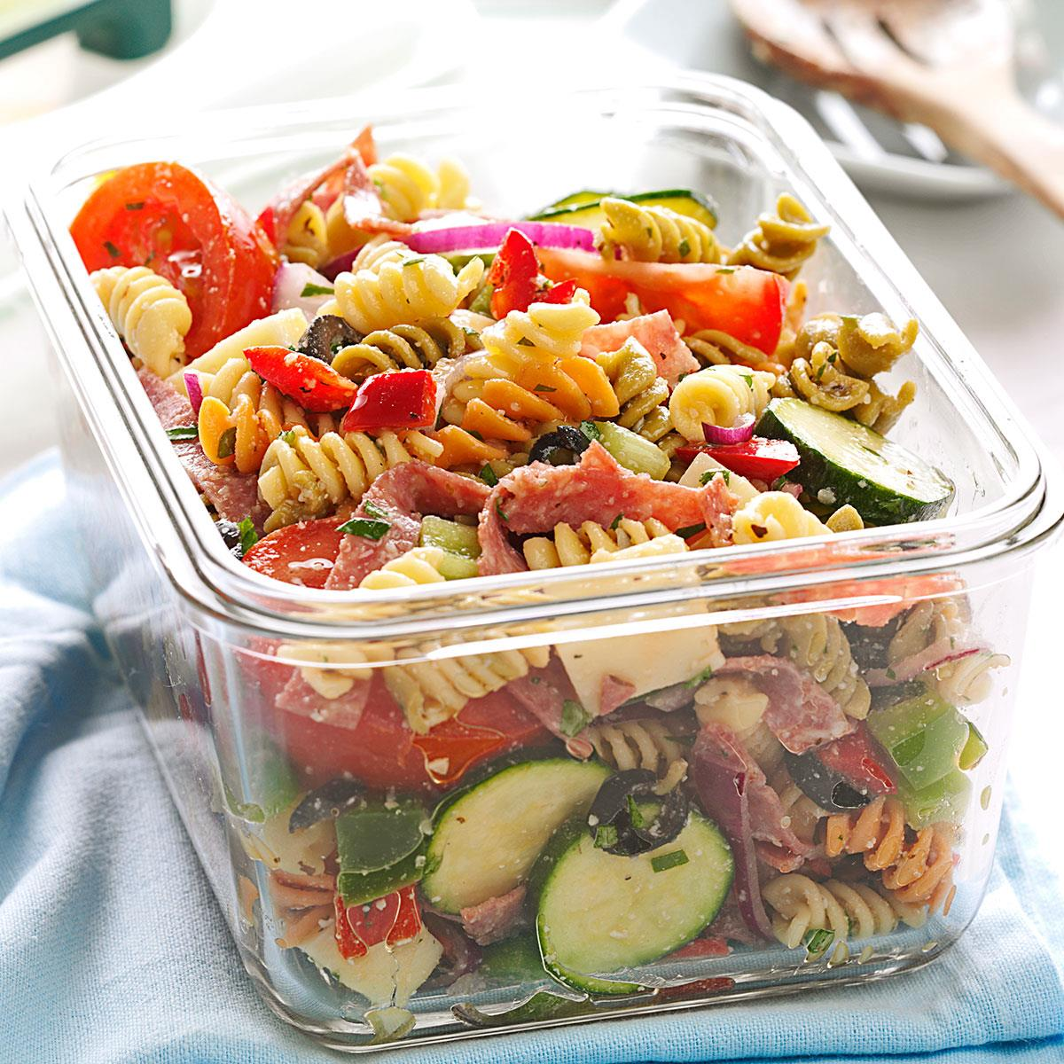 Deli Style Pasta Salad Recipe Taste Of Home