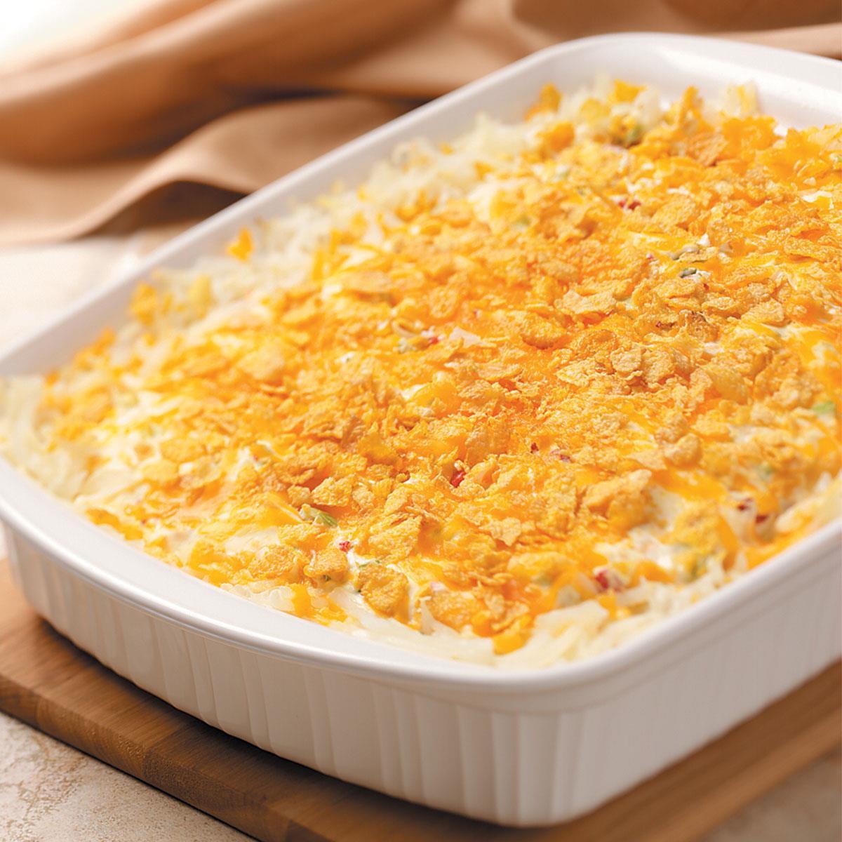 Harvest Potato Casserole Recipe How To Make It Taste Of Home