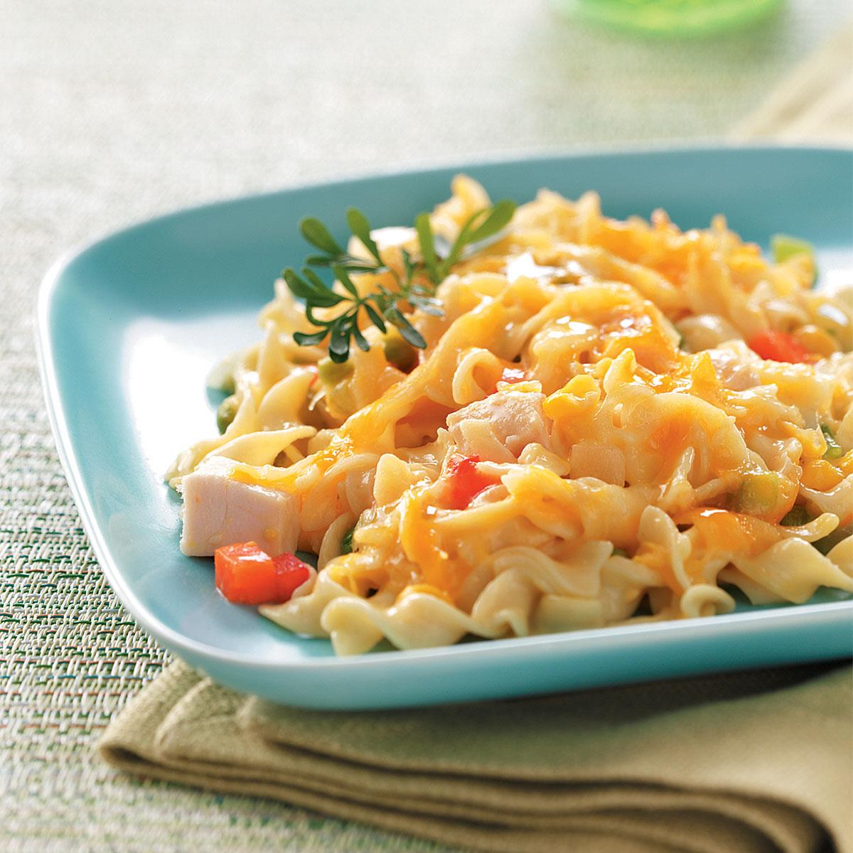 Comforting Chicken Noodle Casserole Recipe How To Make It Taste Of Home