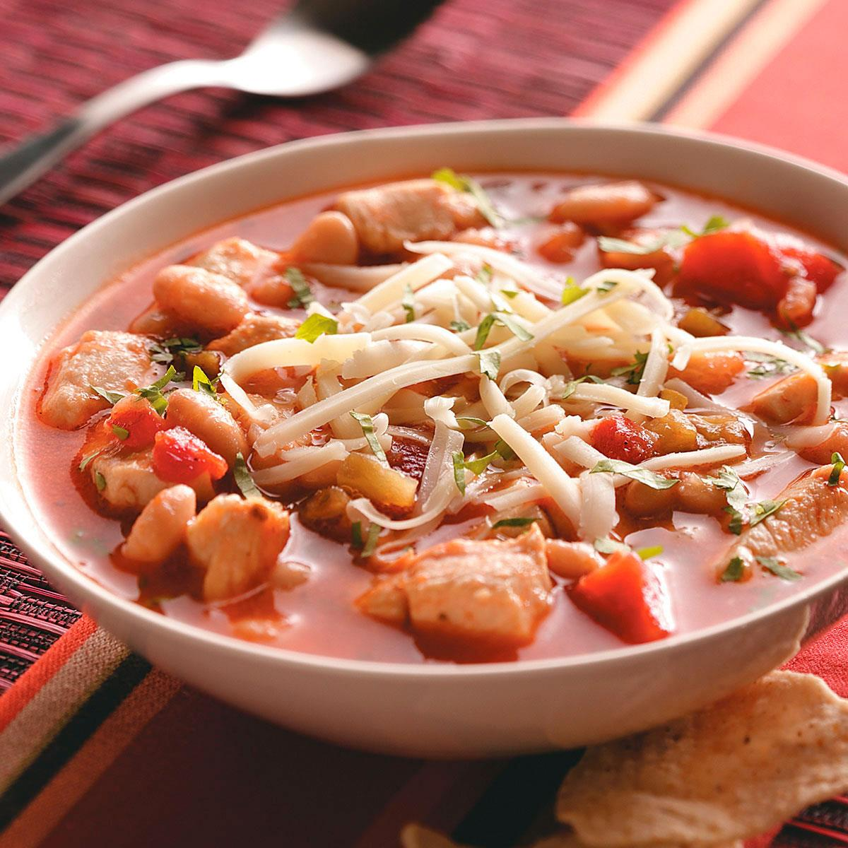 Great Northern Bean Chili Recipe How To Make It Taste Of Home