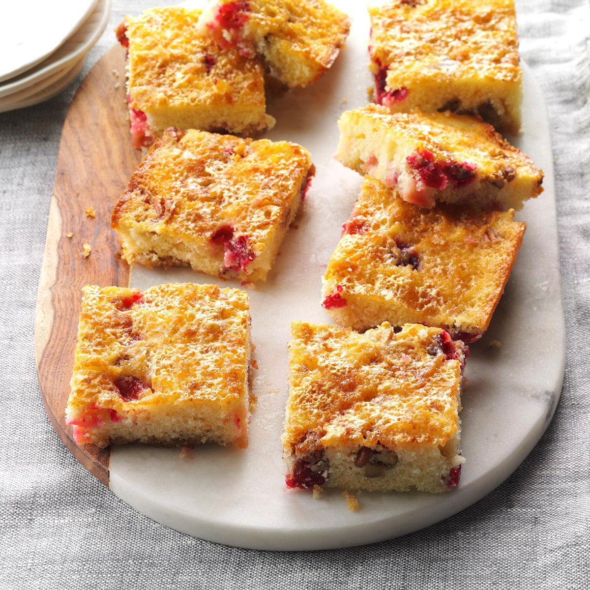 Cranberry Crunch Cake image