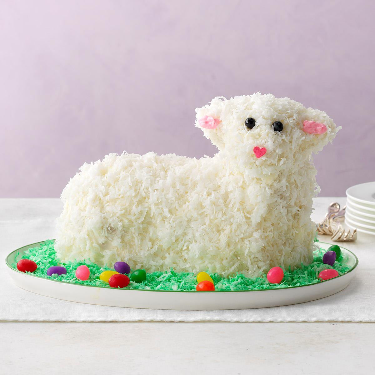 Easter Lamb Cake Recipe | Taste of Home