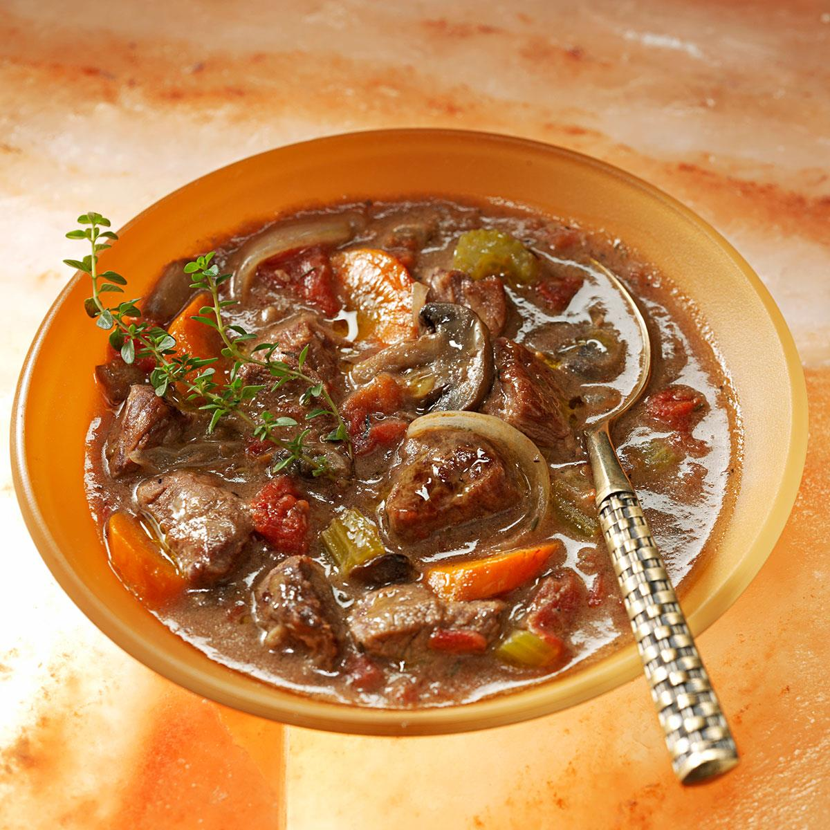 Easy Burgundy Stew Recipe How To Make It Taste Of Home