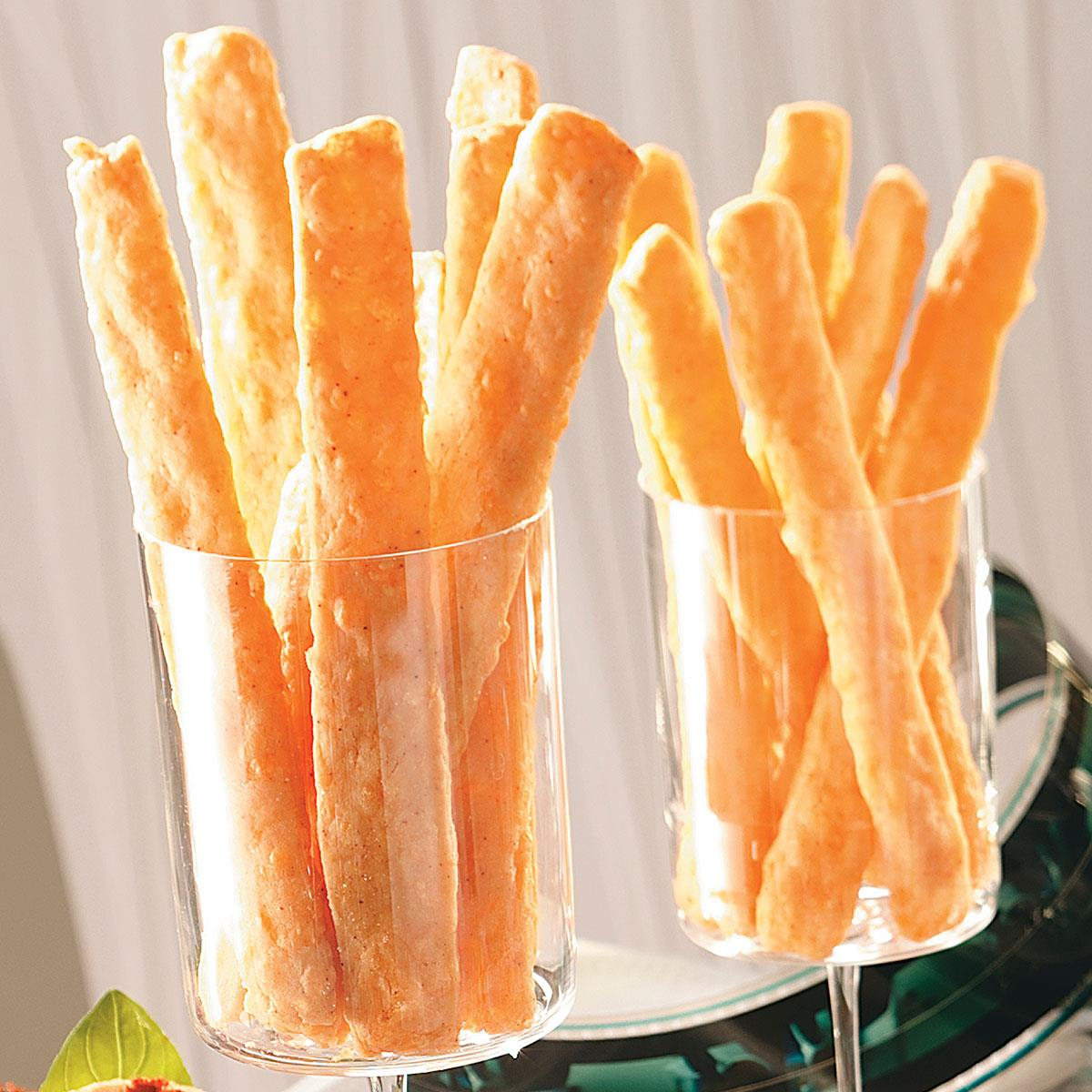 Easy Cheese Straws Recipe How To Make It Taste Of Home