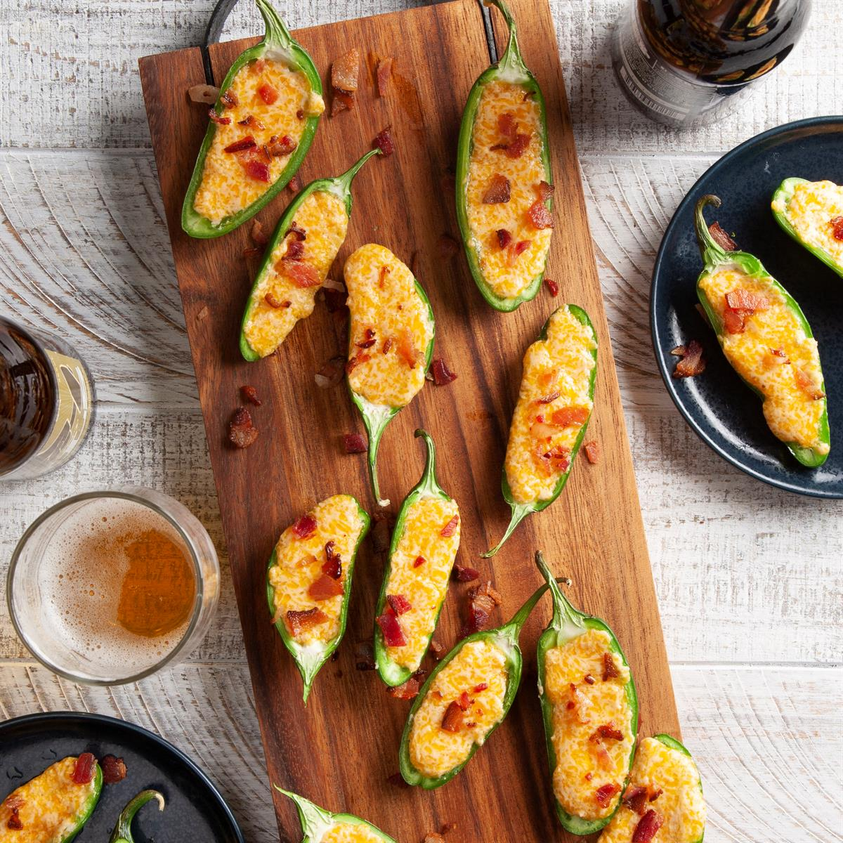 Easy Cheese Stuffed Jalapenos Recipe Taste Of Home