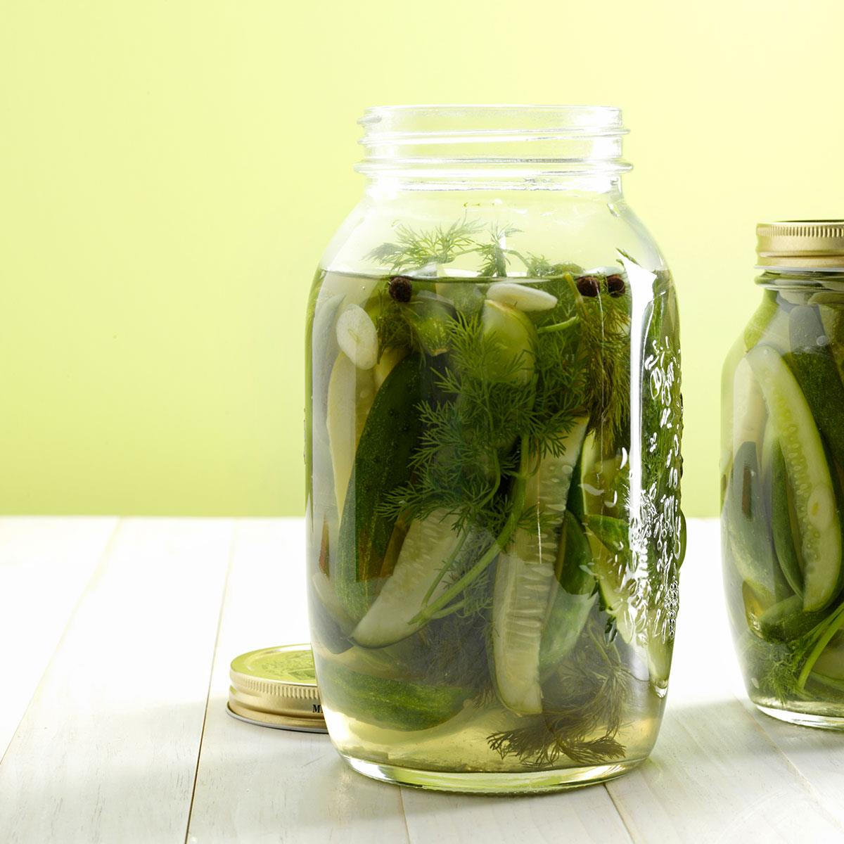 Easy Homemade Pickles Recipe Taste Of