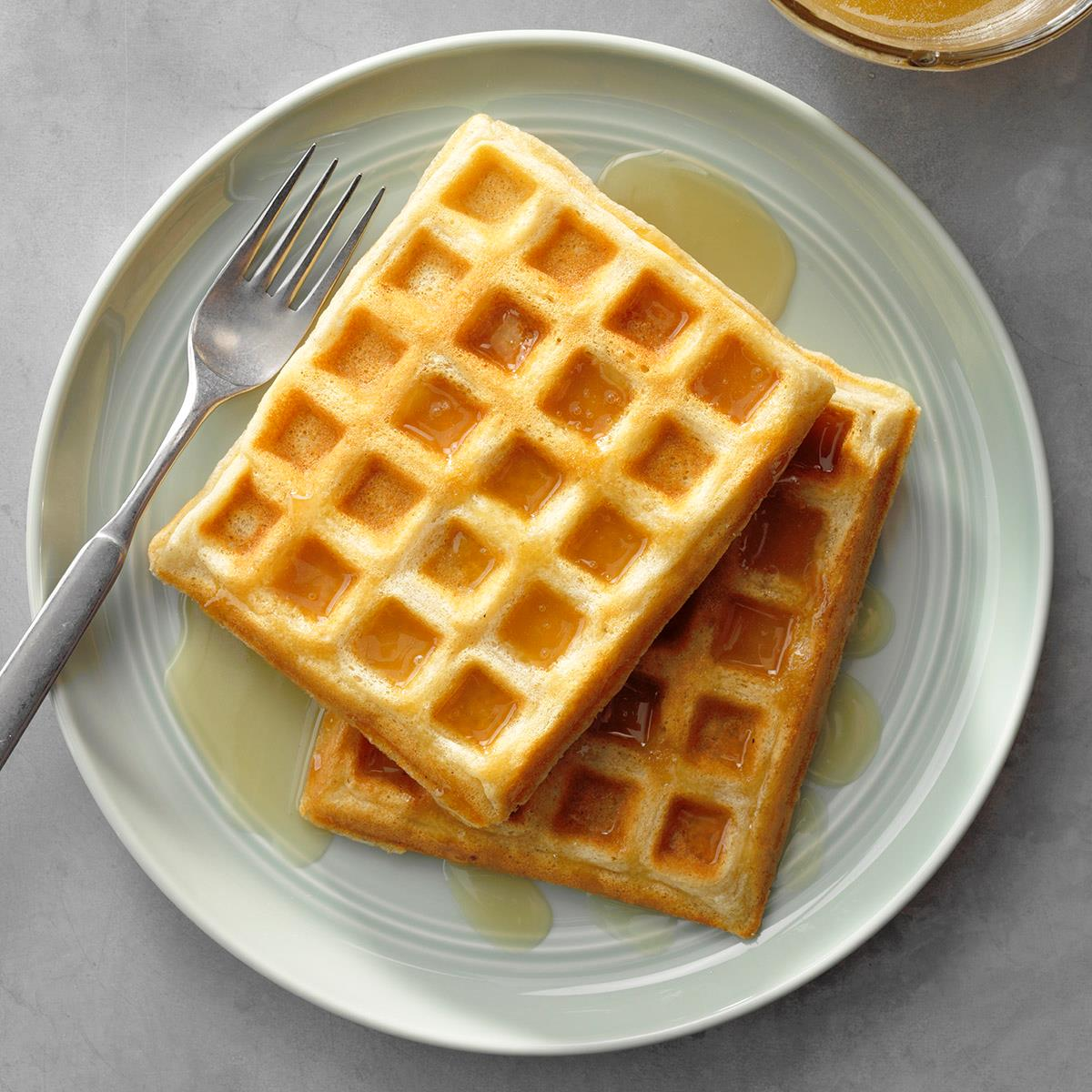Easy Morning Waffles image