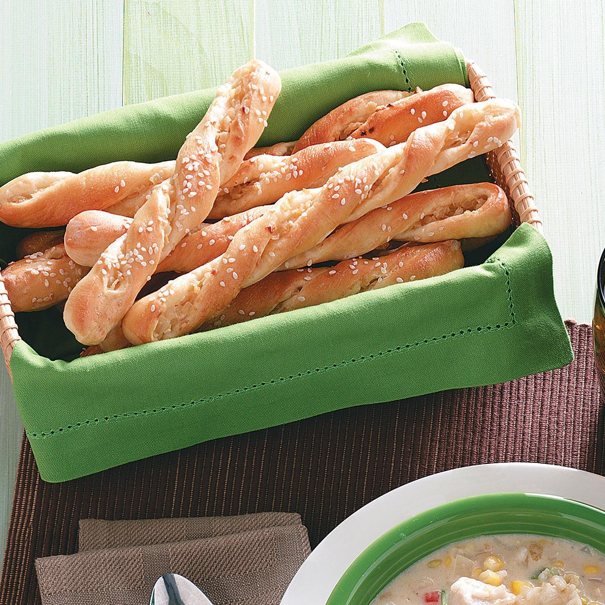 Easy Sesame Breadsticks image