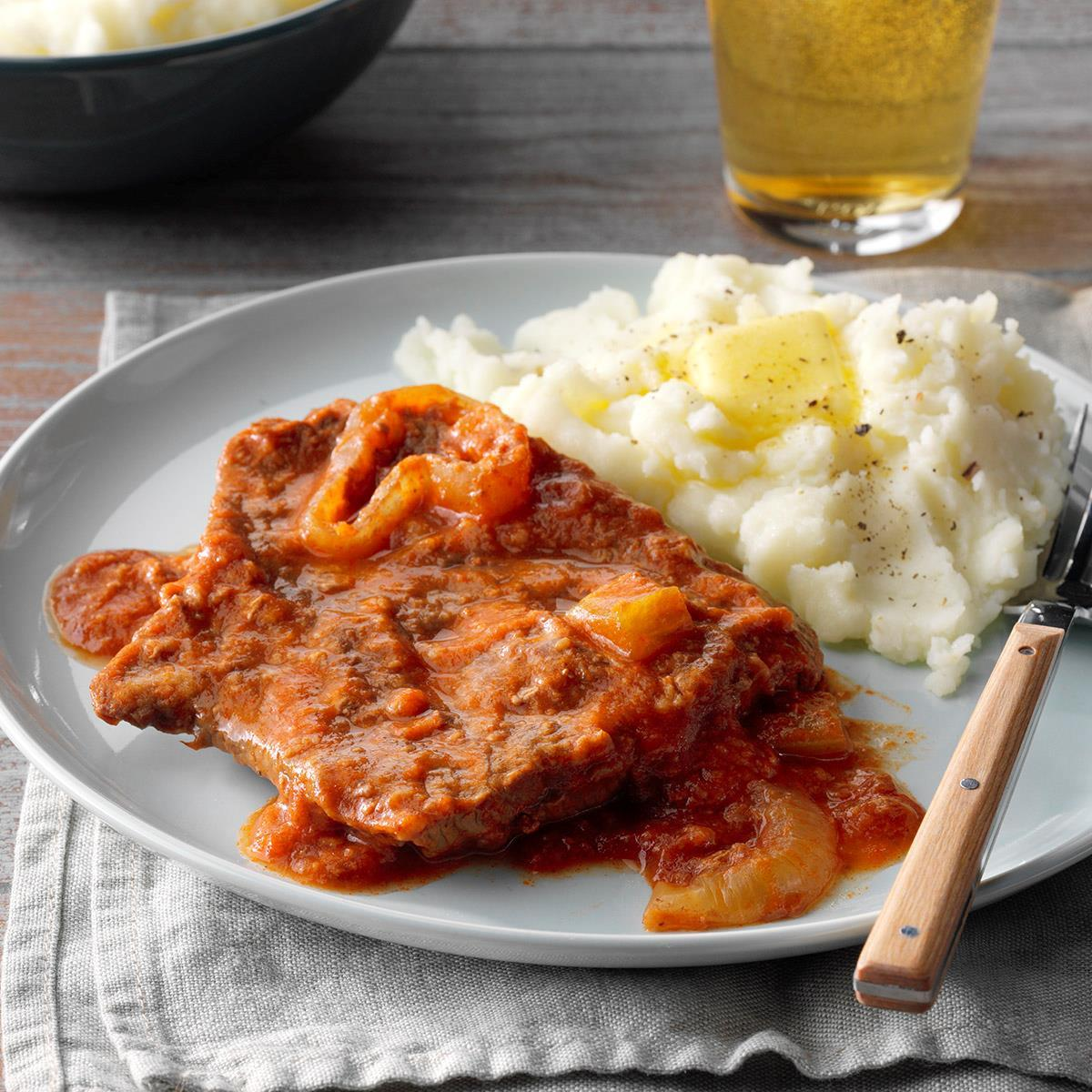 Easy Slow-Cooked Swiss Steak image