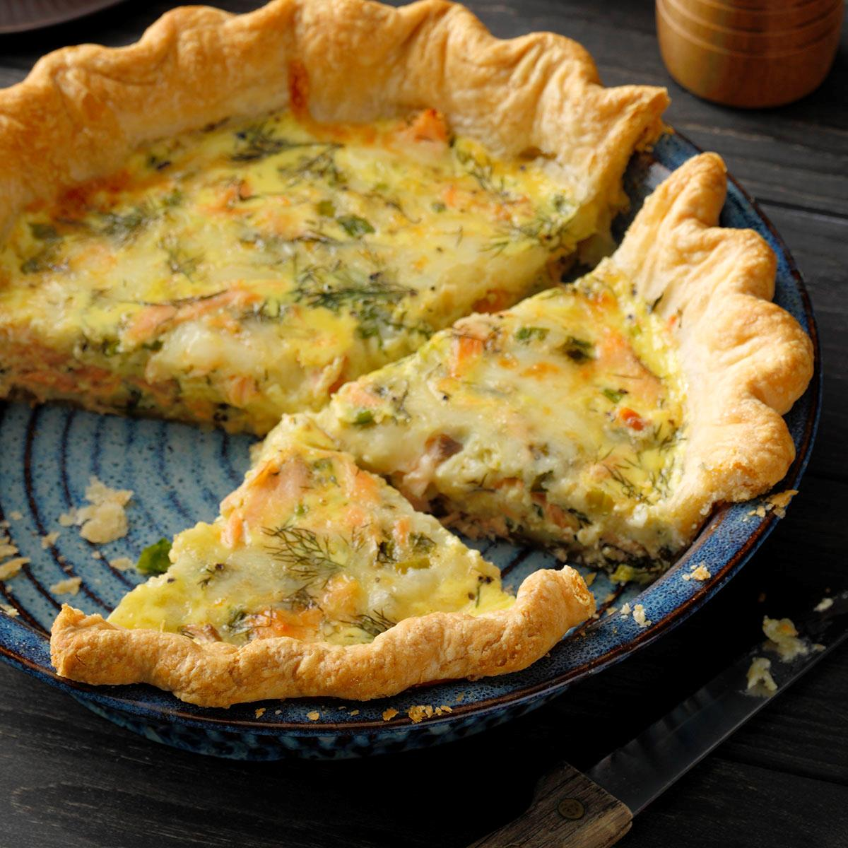 Finnish Salmon and Dill Pie image