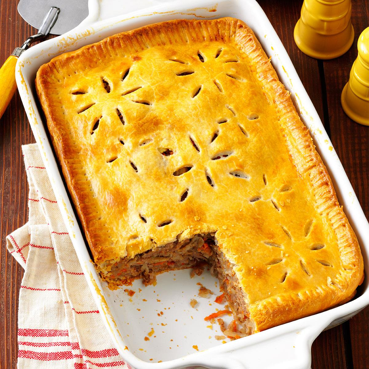 Finnish Meat Pie Recipe How To Make It Taste Of Home