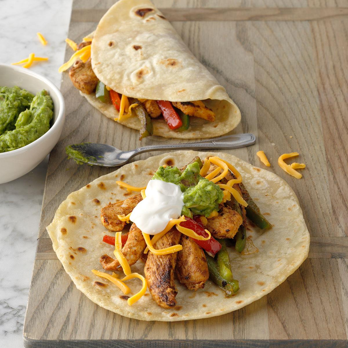 Flavorful Chicken Fajitas Recipe How To Make It Taste Of Home