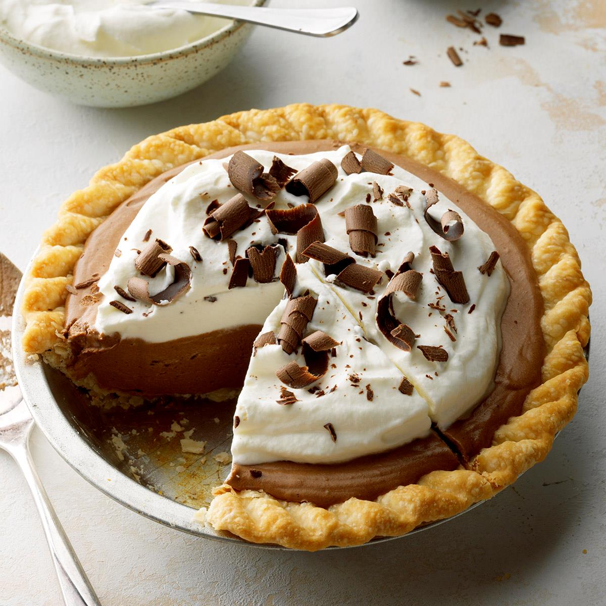 French Silk Pie Recipe How To Make It Taste Of Home