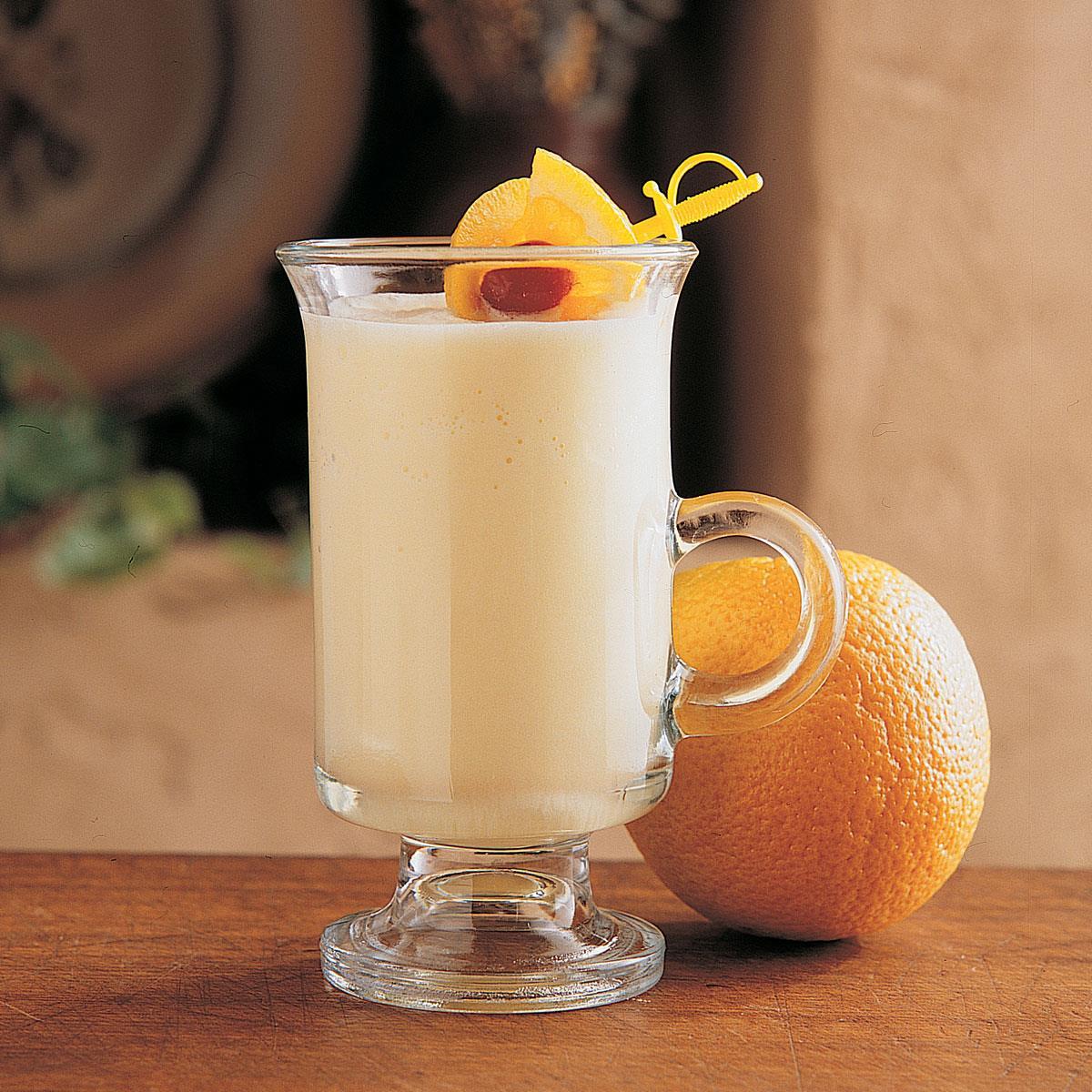 Frosty Orange Smoothie