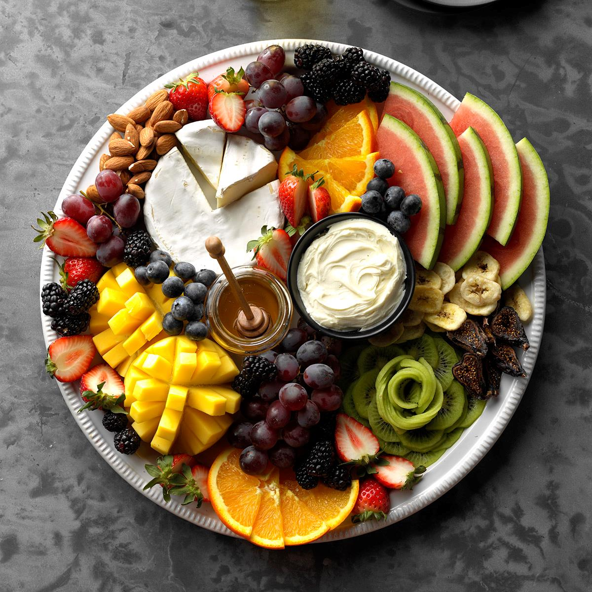 Fruit And Cheese Board Recipe How To Make It Taste Of Home