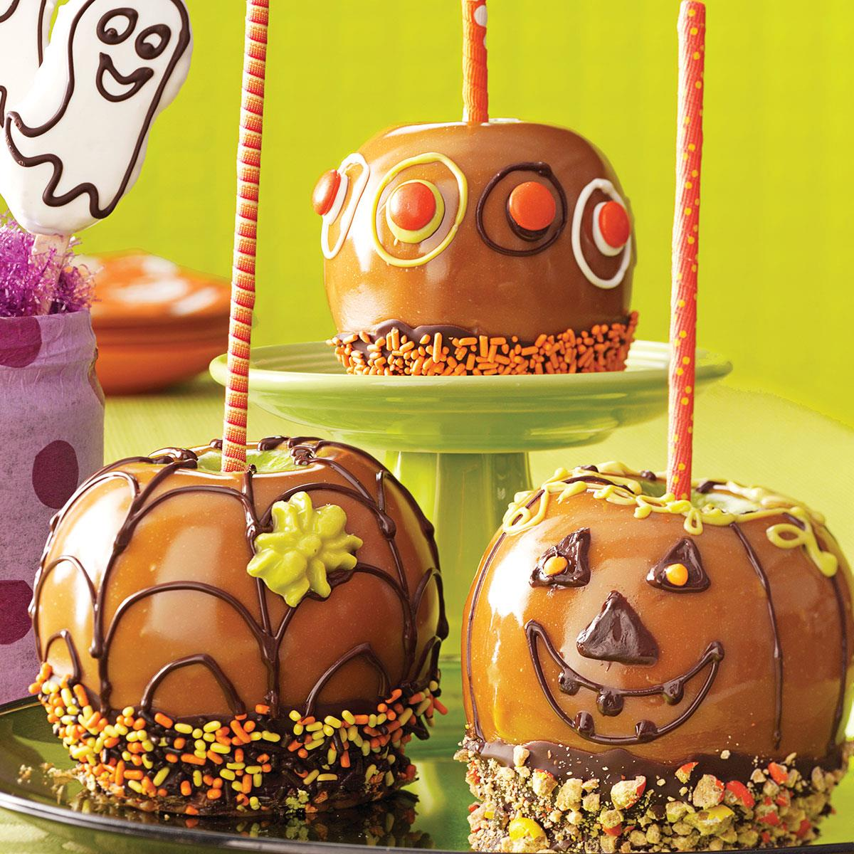Fun Caramel Apples Recipe How To Make It Taste Of Home