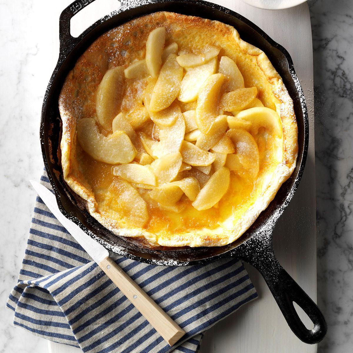 German Apple Pancake_image