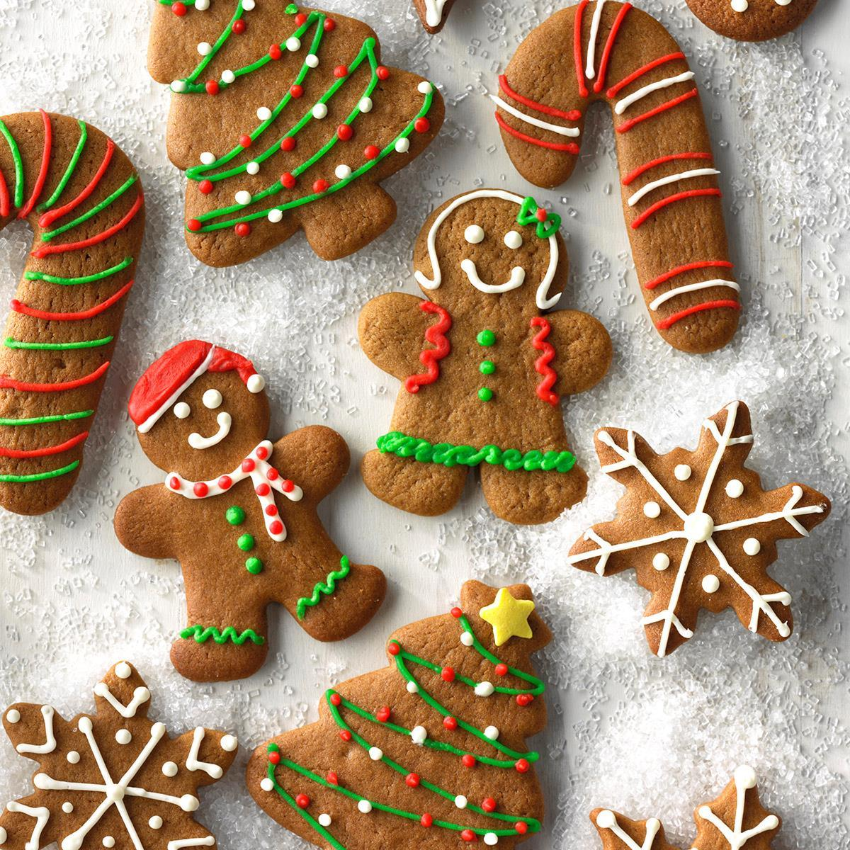 Gingerbread Cutout Cookies Recipe How To Make It Taste Of Home
