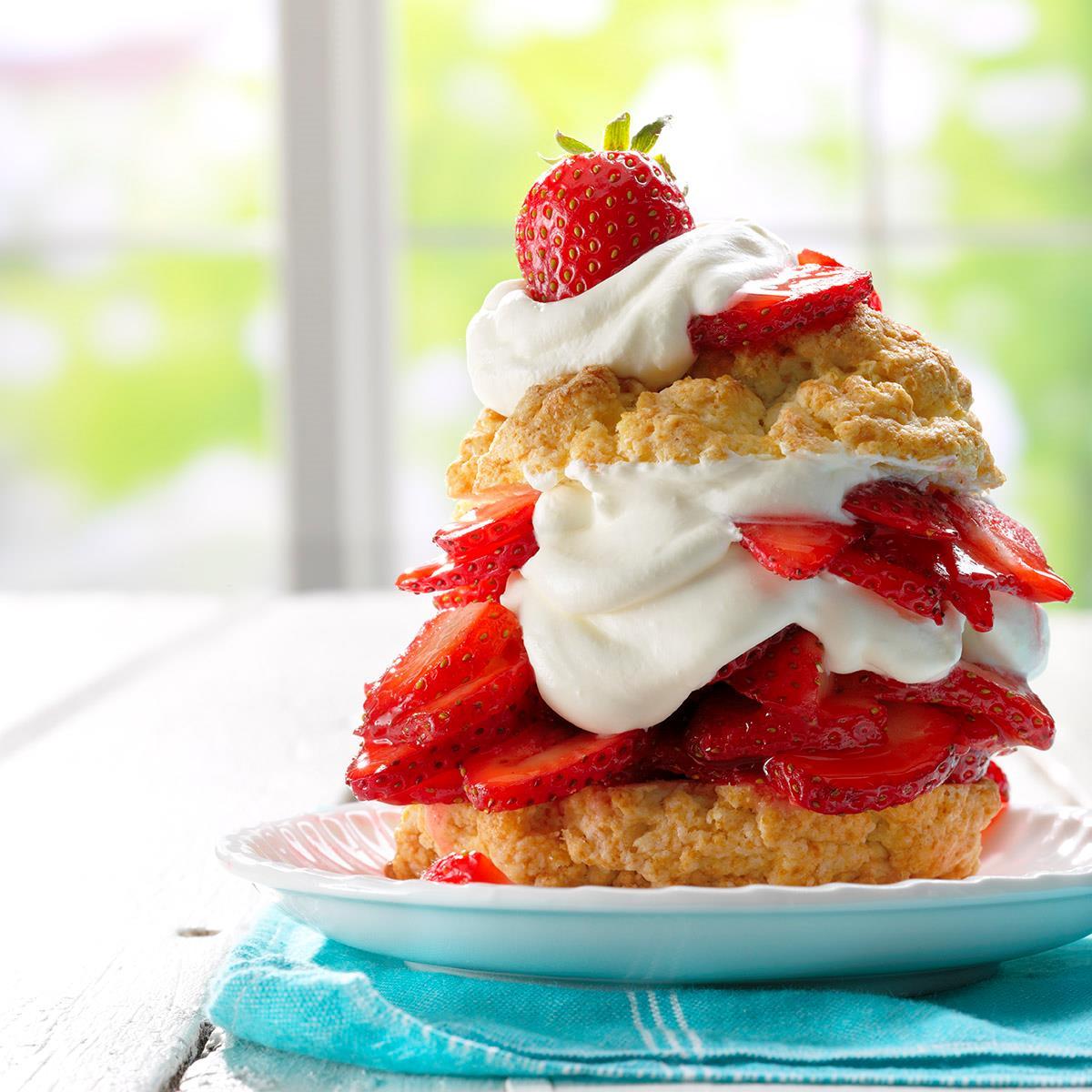 Grandma's Old-Fashioned Strawberry Shortcake image