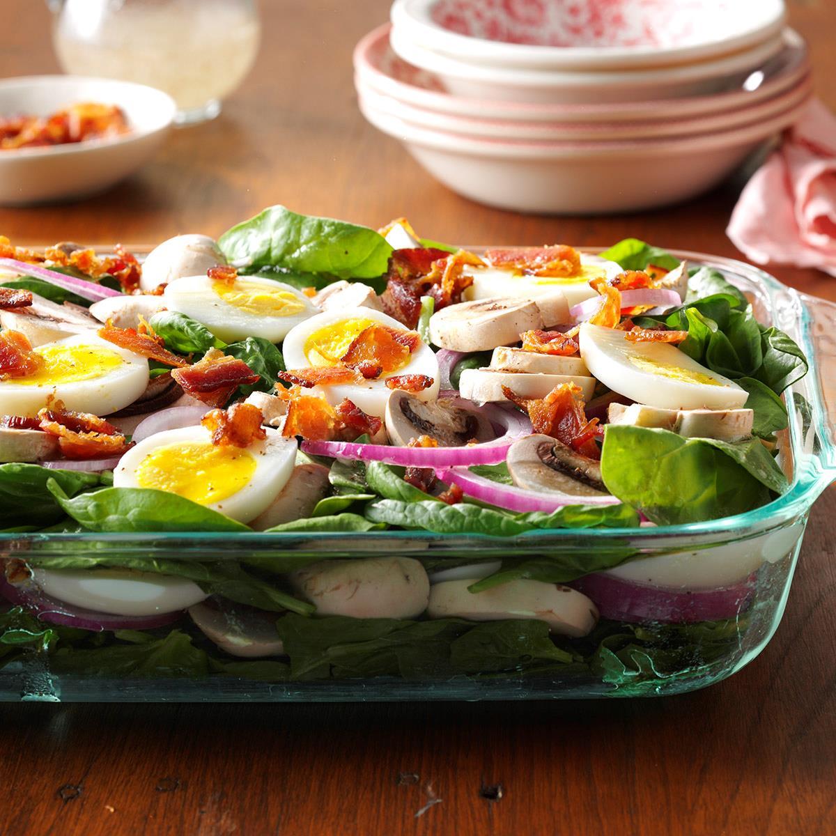 Grandma's Spinach Salad