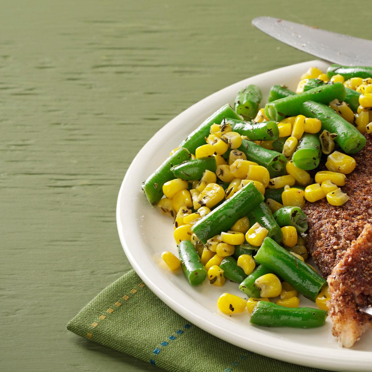 Green Bean & Corn Medley