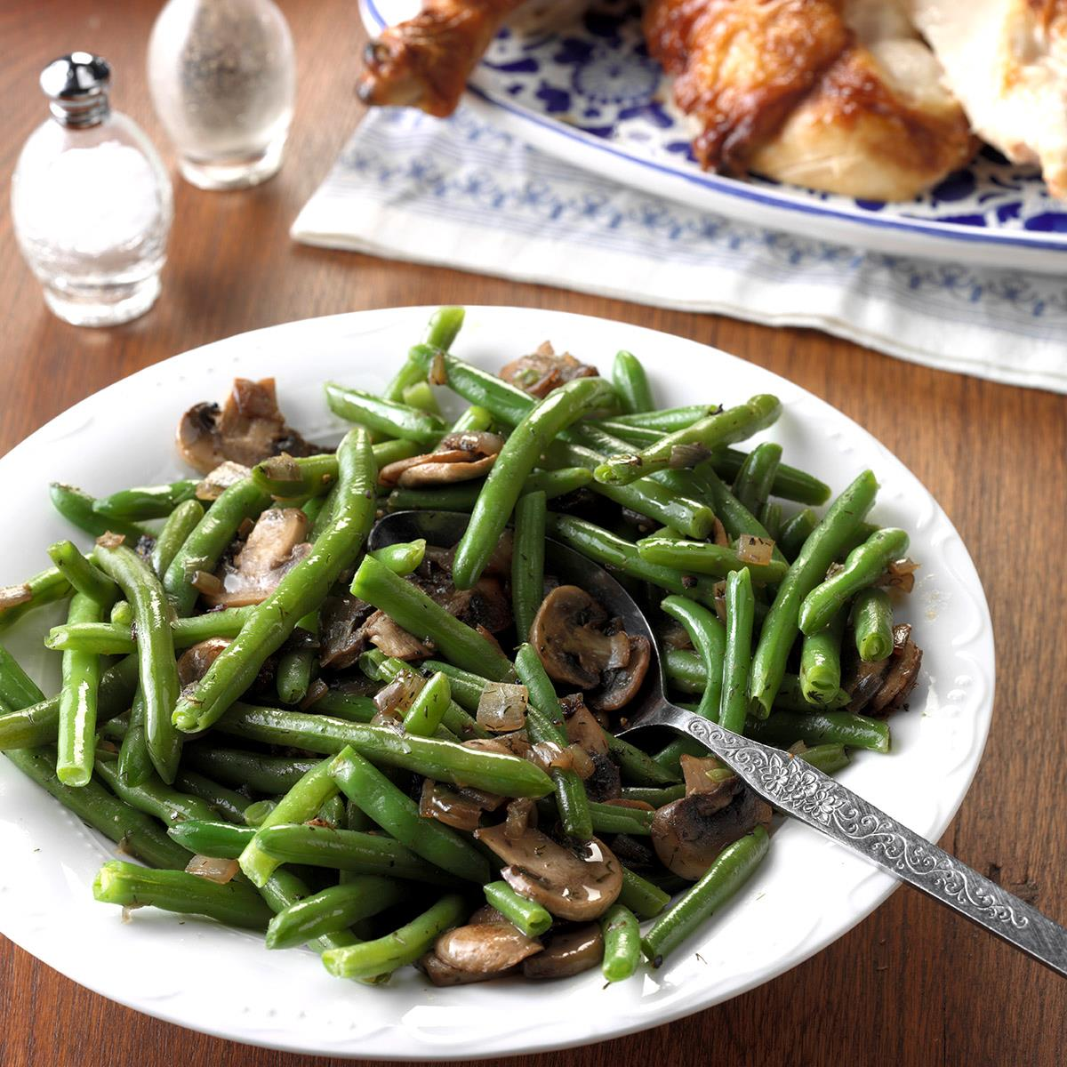 Green Beans with Shallots image