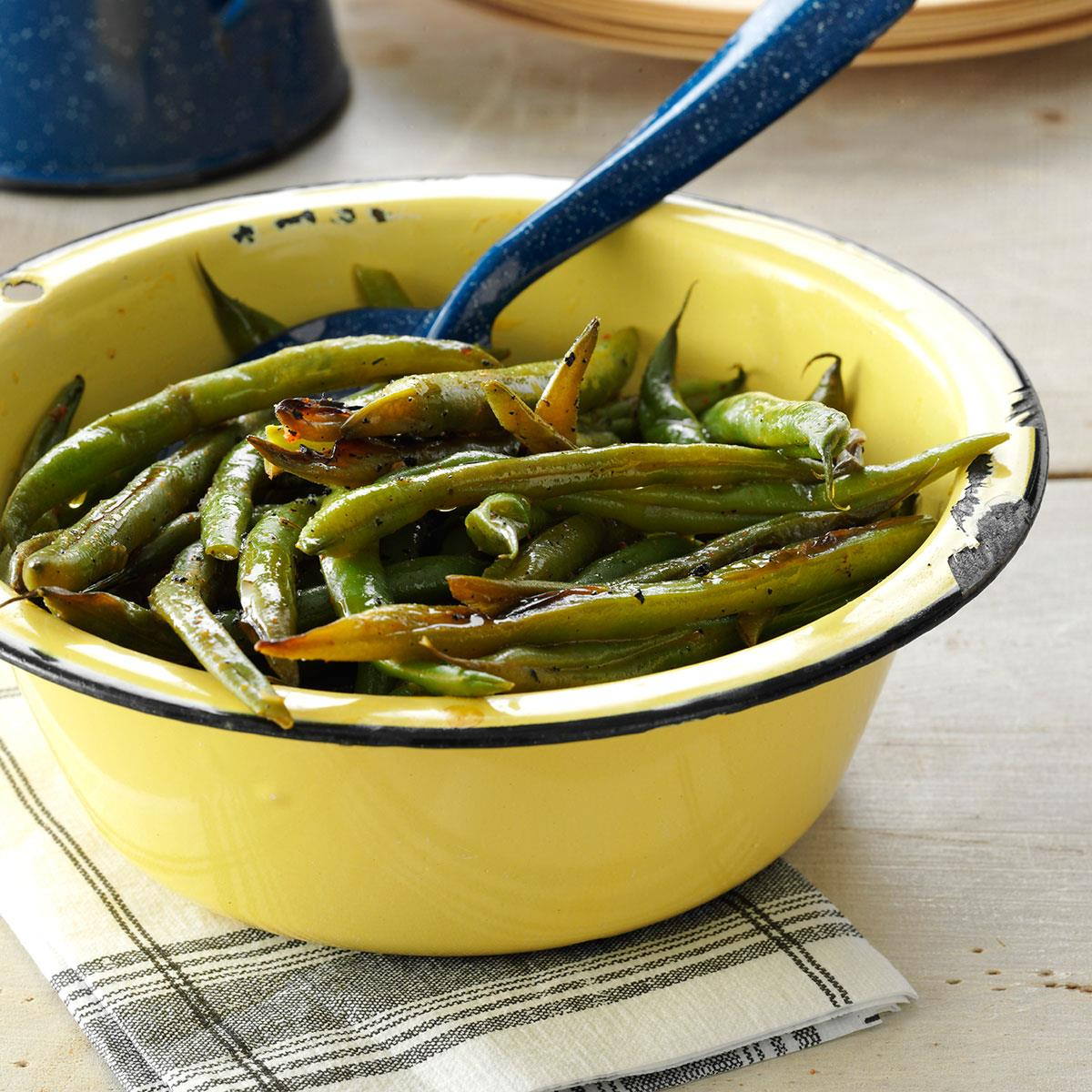 Grilled Cajun Green Beans image